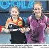 Tischtennis-Talent: Sophia Klee spielt beim Top24-Bundesranglistenturnier